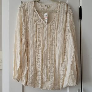 NWT Style & Co 2fer Top 2x
